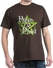 CafePress Pagan and Proud Classic 100% Cotton T-Shirt