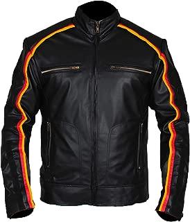 WWE Superstar Dean Ambrose Black Leather Jacket