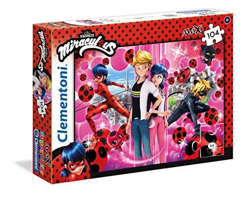 Clementoni - Miraculous Ladybug Miraculuos Supercolor Puzzle