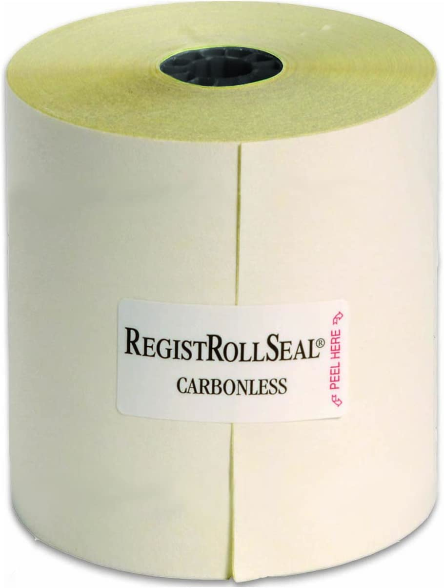 """NCCO Register Rolls - POS Kitchen Receipt Paper – 2 Ply Carbonless – 3"""" x 100' – (1 Case of 30 Rolls) – Item 2300SP : Calculator And Cash Register Paper : Office Products"""