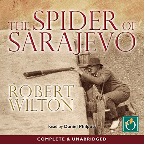 The Spider of Sarajevo audiobook cover art