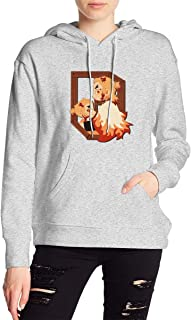 Demon Slayer Kimetsu No Yaiba Rengoku Kyoujurou Hoodies Sweatshirt Adult Pullovers for Women