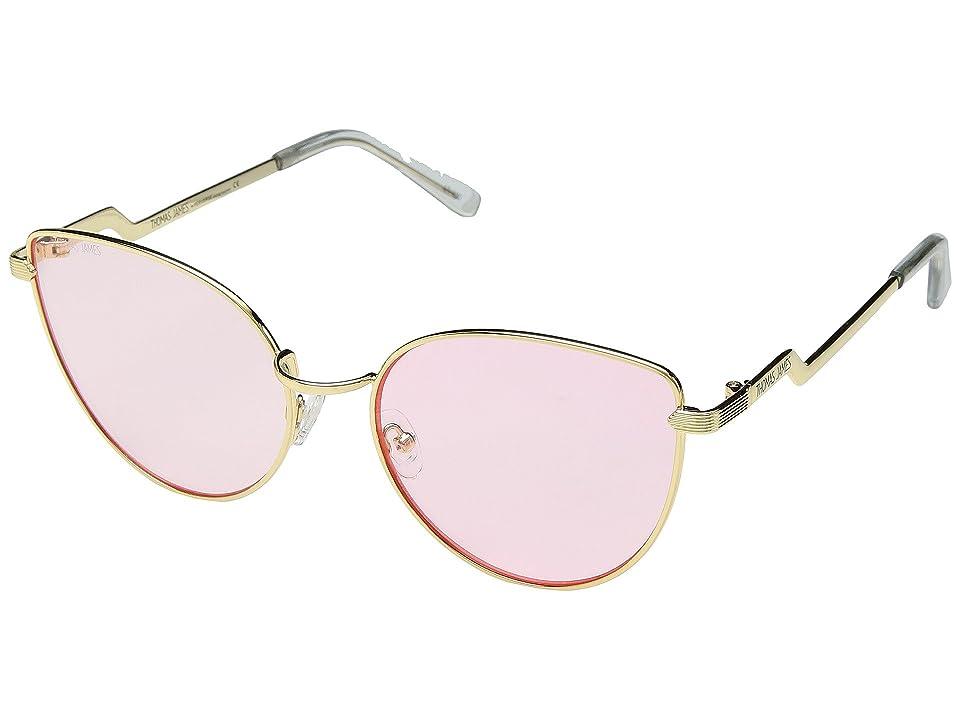 THOMAS JAMES LA by PERVERSE Sunglasses Babygirl (Gold/Pink Lens) Fashion Sunglasses