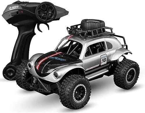 Mogicry Kabellos Lade Fernbedienung Auto K r Allradantrieb 2,4 GHz Spielzeug Beruf ABS Material RC Auto Multifunktions Größe Junge Kind Spielzeug SUV Geschenk Rennwagen für Kinder 3+