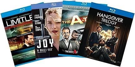 Ultimate Bradley Cooper 6-Movie Blu-ray Collection: The Hangover / The Hangover 2 / The Hangover 3 / Limitless / Joy / The A-Team [Bluray]