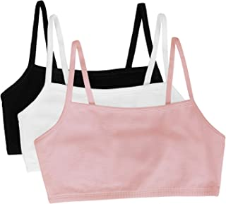 Fruit of the Loom Women's 3 Pr Spaghetti Sportsbra