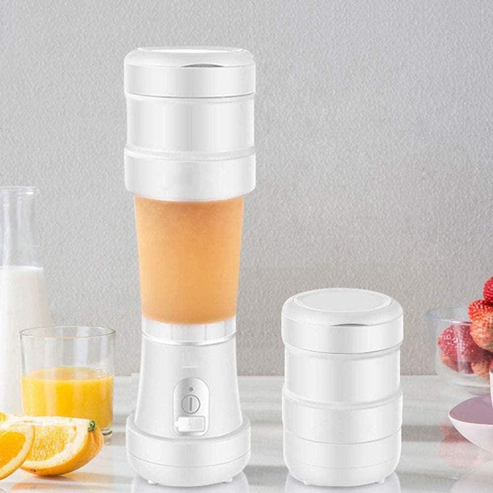Exprimidor portátil recargable Exprimidor doméstico pequeño Exprimidor eléctrico Mini taza de jugo de fruta para cocinar Green