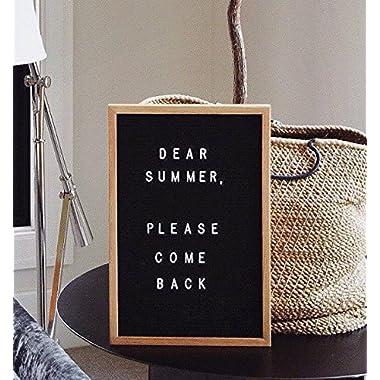 Letter Board- 12 x18  Black Felt Letter Board