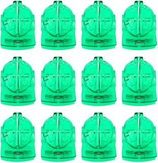 Tebery 12 Pack Golf Ball Line Marker Liner Drawing Marking Alignment Putting Tool