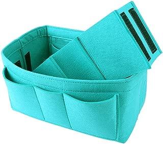Felt Purse & Bag in Bag Organizer Insert/Multi-Pocket Handbag Shaper-Fit LV Speedy Neverfull Longchamp Tote(7 Colors)