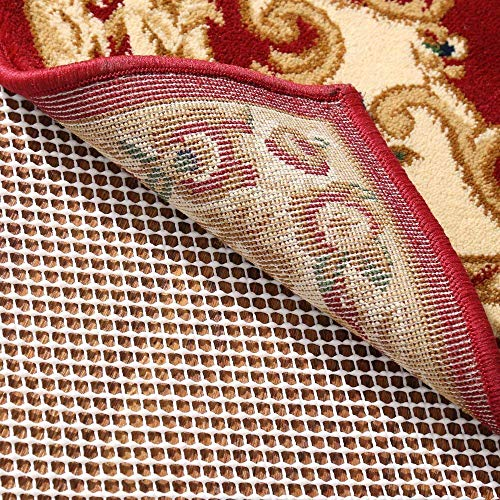 RHF Non-Slip Area Rug Pad 9 x 12 Ft - Protect Floors While Securing Carpet Rug and Making Vacuuming Easier 9' x 12'