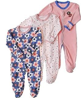 baby pajamas with mitten cuffs