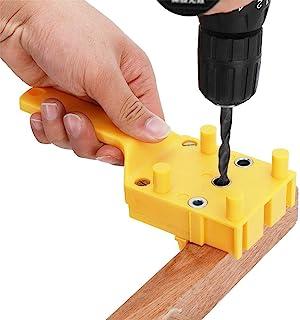 Dowelling Jig, Houtbewerking Dowelling Jig Bits Handheld Boor Gatenzaag Gereedschap voor Gebruik Met De meeste Hand En Pow...