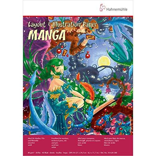Bloc Layout & Illustration Papier 80g A4 Manga de Hahnemuhle