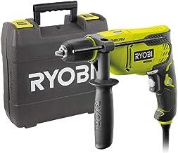 Ryobi 5133002016 Taladro de percusión cable eléctrico 650 W llave de mandril, 310 W, Verde, Negro