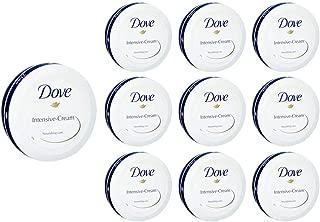 Dove Intensive Cream Nourishing Care Dry Skin Moisturizer 150ml 5oz (10-Pack)