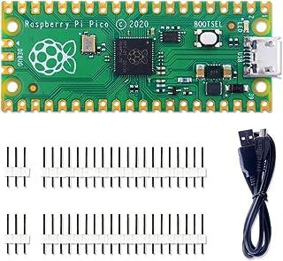 GeeekPi Raspberry Pi Pico Kit de microcontrolador flexible Mini placa de desarrollo, basado en la Raspberry Pi RP2040, pro...