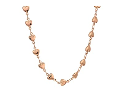 Alex and Ani Heart Beaded Adjustable Necklace (Rose Gold) Necklace