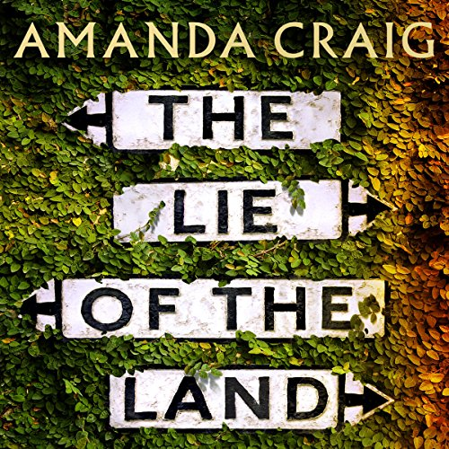 The Lie of the Land audiobook cover art