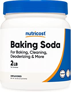 Nutricost Baking Soda (2 LBS) - For Baking, Cleaning, Deodorizing, and More