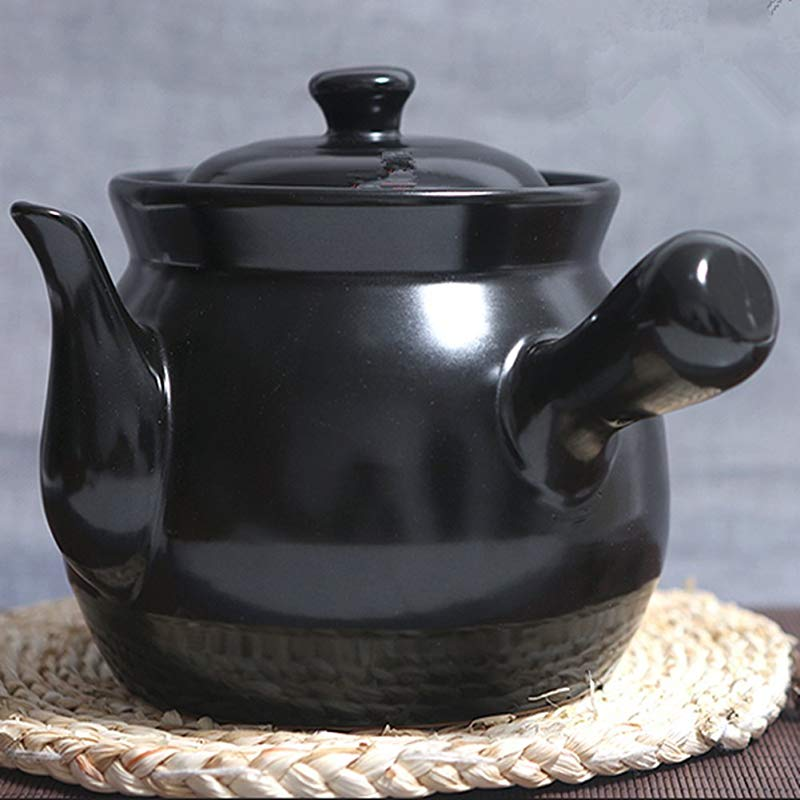 Health Medicine Pot Casserole Stew Pot Pot With Chinese Medicine Black 3200ml