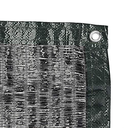 遮光ネット 遮熱ネット 2m×4m ハトメ付 日除けネット 遮光率70% 46g ㎡