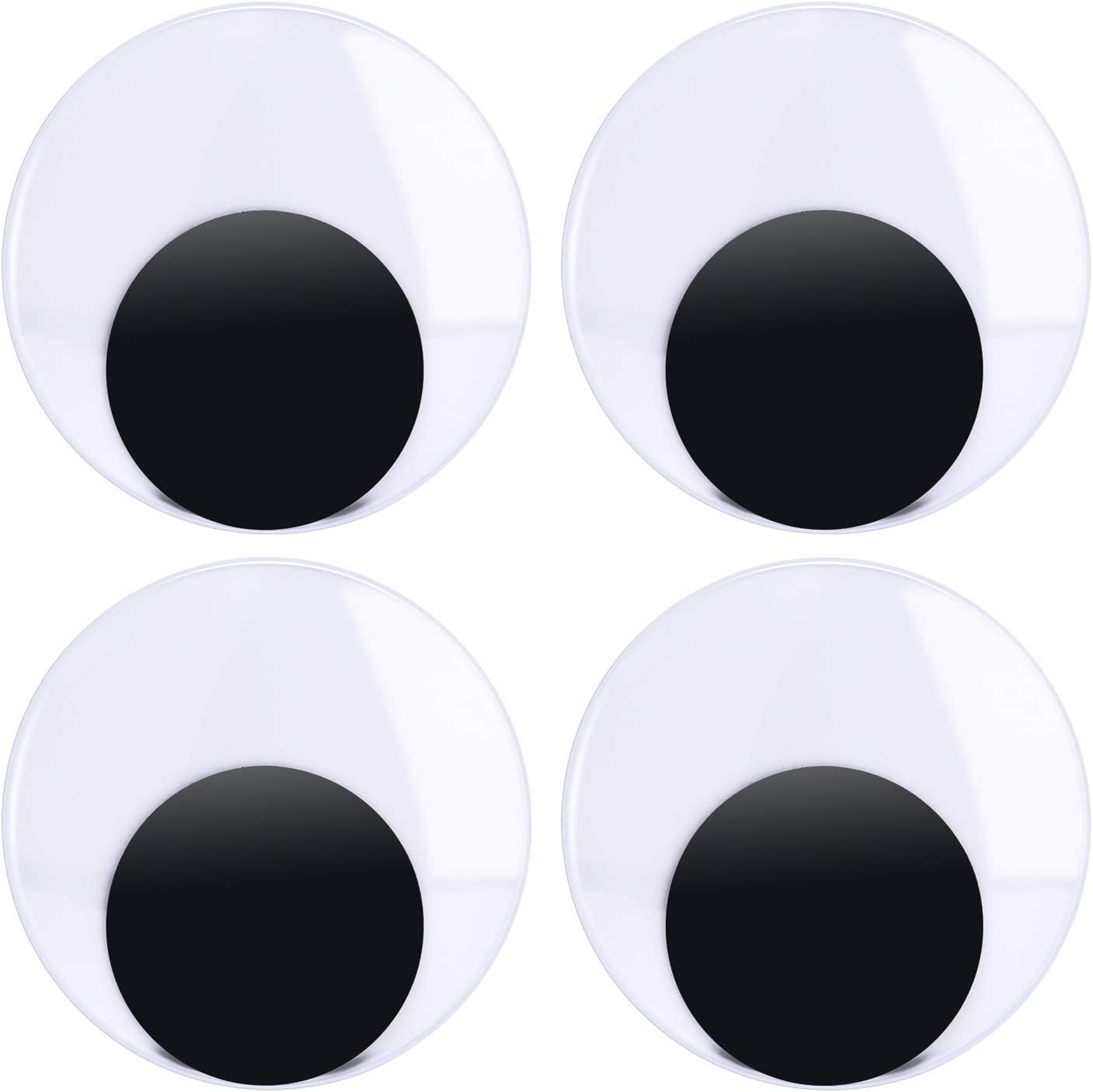 4 Inch Large Max 62% OFF Wiggle Googly Eyes for DIY Crafts 8 Decoration Sales results No. 1