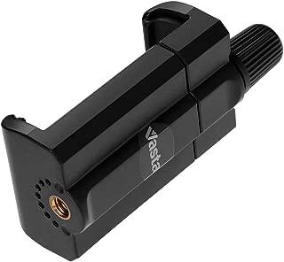Vastar Mobile Phone Mount Tripod Adapter, Smart Phone Tripod Holder, Black Smartphone Tripod Mount, Cell Phone Mount Adapter