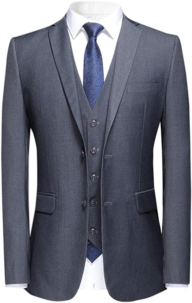 Mens 2 Button Cash special price Direct stock discount Classic Fit Solid 5 Blazer Neck Suit V and