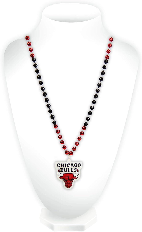 Rico Industries NBA Fan Shop Max 85% OFF Team Beads Year-end gift Logo Gras Mardi Style