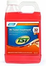 Camco TST Ultra-Concentrate Orange Scent RV Toilet Treatment, Formaldehyde Free, Breaks Down Waste And Tissue, Septic Tank Safe, Treats up to 32 - 40 Gallon Holding Tanks (64 Ounce Bottle) - 41172