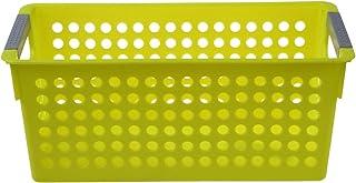 LYY Paniers/bacs de Rangement en Plastique empilables de Style Japonais Organisateur de Fruits Jouets vêtements boîte à Ga...