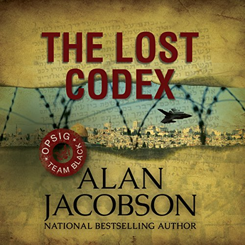 The Lost Codex audiobook cover art