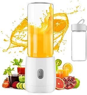 ZWWZ Juicer MachinesMini Blender, Smoothie Blender Portable Juicer Petit Fruit Mélangeur de Fruits Coupe de Juicer Recharg...