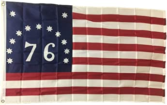 New 3x5 Bennington (76) Flag American Revolution Flags