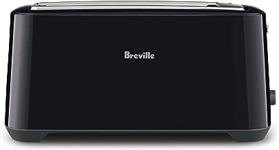 Breville 4 Slice Toasters, Black Sesame, BTA380BKS