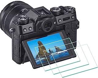 X-S10 skärmskydd för Fujifilm X-T30 X-T20 X-T10 X-E3 Fuji X-S10 X-T30 XF10 X-T100 X-A1 X-A2 Digital kamera, ULBTER 0,3 mm ...