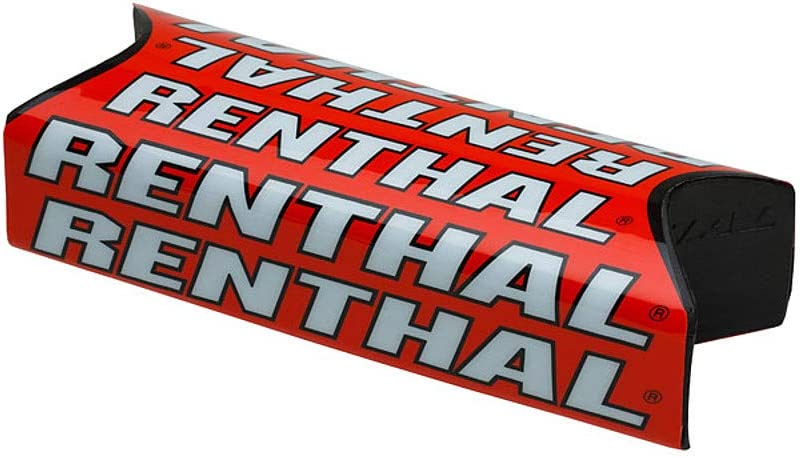 Renthal P274 Max 90% OFF Excellent Fatbar Team Handlebar Red Pad Issue