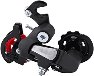 Bike Rear Derailleur, Bicycle Transmission Rear Derailleur for Most Mountain Road Bikes 7 21 Speed