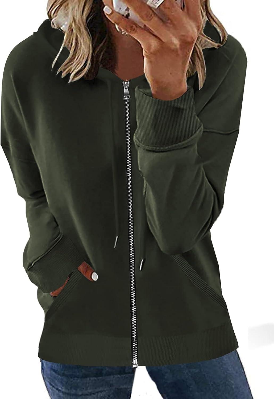 2021 model SHEWIN Genuine Free Shipping Womens Fashion Zip Up Hoodie Hooded Long Jacket Sleeve Sw