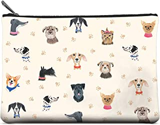 Studio Oh! Zippered Pouch, Large, Doggone Cute (POL40)