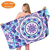 Mandala Thin Sand Free Beach Towel-Quick Fast Dry Super Absorbent Oversized Large Towels B...