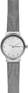 Skagen Freja Women's Silver Dial Stainless Steel Analog Watch - SKW2715