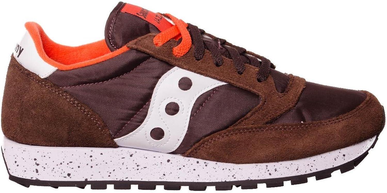 Saucony shoes Men Low Sneakers S2044-458 Jazz Original Size 44.5 Brown