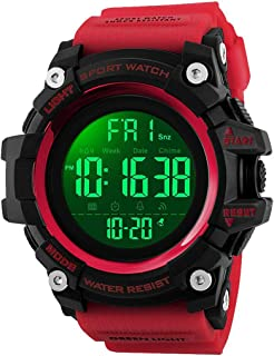 Men's Analog Digital Waterproof Sports Watch Military Multifunction Dual Time Stopwatch Alarm Backlight 50M Water Resistan...
