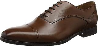 Geox U Saymore A, Zapatos de Cordones Oxford Hombre, 46 EU