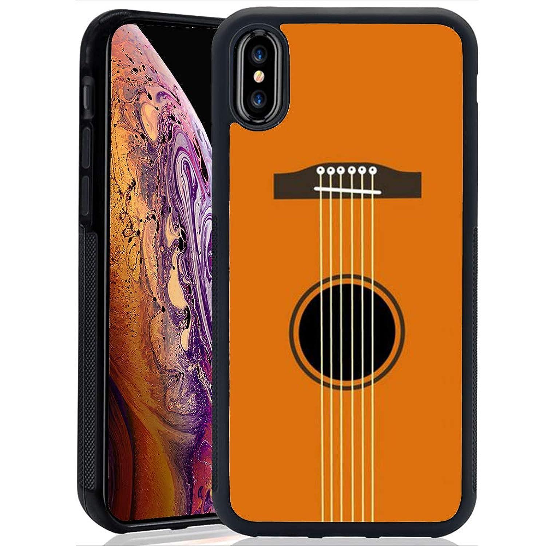 Creative Designs Guitar Strings PC and TPU Anti-Scratch Phone Case for iPhone Xs Max