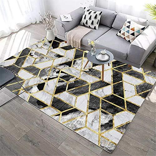 alfombras lisas centro de mesa decorativo comedor La decoración de la sala de estar de la alfombra rectangular gris es resistente a las manchas y lavable habitaciones juveniles 50X80CM 1ft 7.7'X2ft 7.