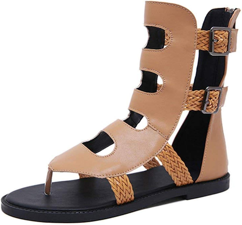 Tcvncfshfs Summer Beach Women Flat Sandals Flip Flops Comfortable
