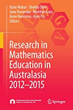 Research in Mathematics Education in Australasia 2012-2015